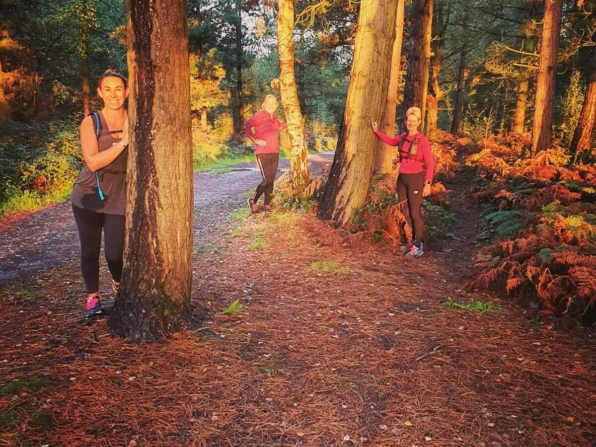 Cannock chase Kathy England runners StEP Article